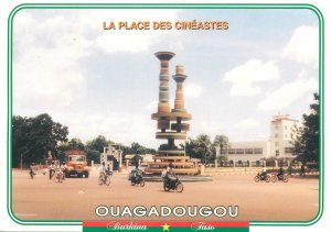 Postcard Burkina Faso Ouagadougou La Place des Cineastes