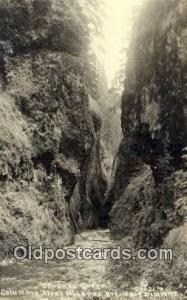 Real Photo - Oneonta Gorge Columbia River Highway OR Unused