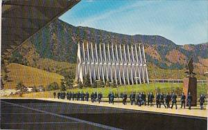 Colorado Springs Chapel And Cadets United States Air Force Academy 1967