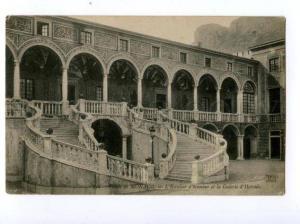 133096 MONACO Palais Galerie d'Hercule Vintage postcard