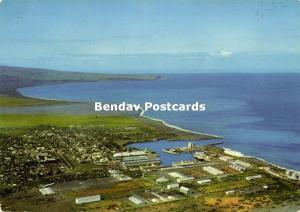 reunion, SAINT-PAUL, Vue du Port et la Baie (1977) Stamp