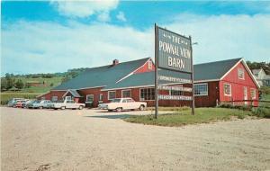 Pownal Vermont~Pownal View Barn~Crowley's Cheese~Maple~Honey~1960s Cars