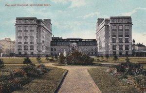 WINNEPEG, Manitoba, Canada, 1900-10s; General Hospital