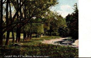 New York Catskills Murderers Creek The Willows