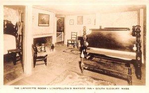 The Lafayette Room South Sudbury, Massachusetts Postcard