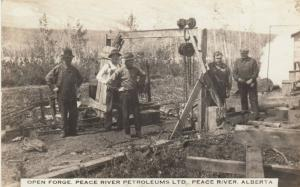 RP: PEACE RIVER , Alberta , 00-10s ; Open Forge, Peace River Petroleum Co