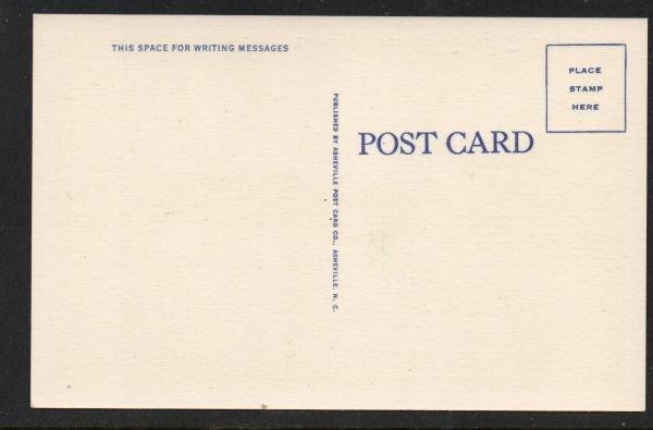 North Carolina postcard Camp harry H. Straus, Brevard, N.C. unused
