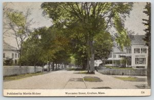 Grafton Massachusetts~Worcester Street Homes~Picket Fences~1919 Martin Hickey PC
