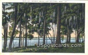 Back Bay, Biloxi in Gulfport, Mississippi