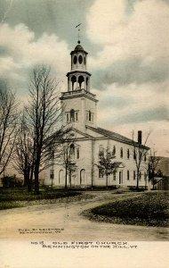 VT - Bennington. Old First Church on the Hill
