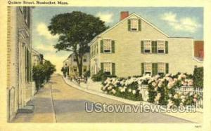 Quince St. Nantucket MA Unused