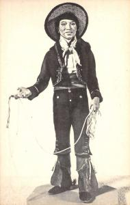 Los Angeles California Cowboy Museum Model Antique Postcard K107043