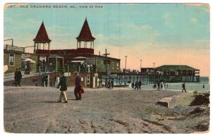 Old Orchard Beach, Me, View Of Pier