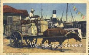 Philippines, Pilipinas Caraboa & Cart Caraboa & Cart