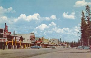 Travel Center Street Scene West Entrance To Yellowstone National Park