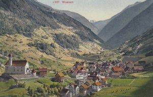 WASSEN, Switzerland, 1900-10s