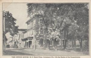 LIVERPOOL , Pennsylvania, 00-10s; Owens House , Street View