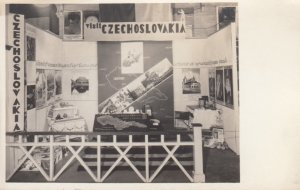 RP: Exposition Display , 1910-20s ; visit CZECHOSLOVAKIA