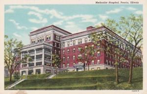 Illinois Peoria Methodist Hospital Curteich