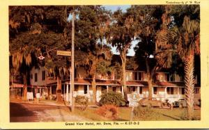Florida Mount Dora Grand View Hotel 1959 Dexter Press