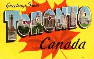 Large Letter - Toronto, Ontario Canada
