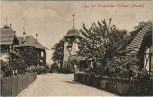 CPA AK Essen Aus der Kruppschen Kolonie Altenhof GERMANY (1134481)