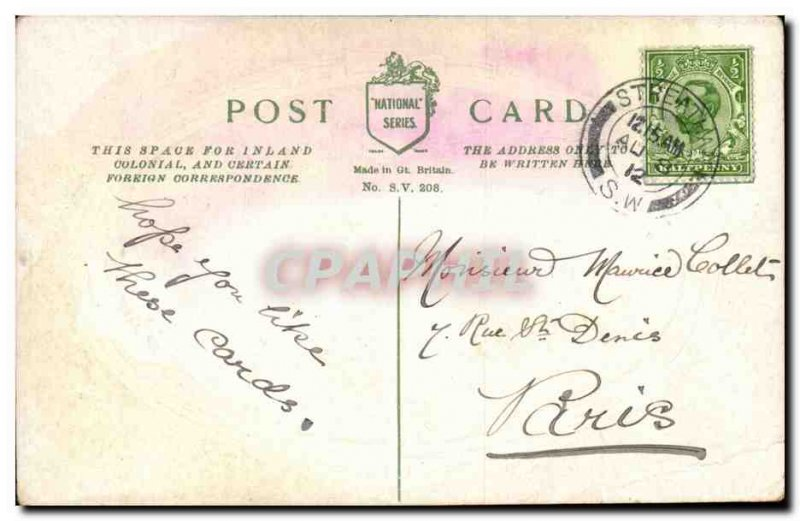 Great Britain Old Postcard Drilling before Admiralty buildings London London