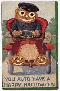 You Auto Have A Happy Hallowe'en