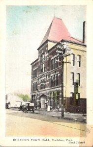 Connecticut Danielson Killingly Town Hall
