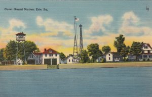 ERIE , Pennsylvania , 30-40s ; Coast Guard Station