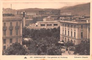Constantine Algeria, Alger, Algerie Vue Generale du Faubourg Constantine Vue ...
