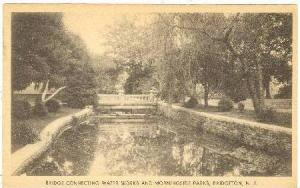 Bridge Connecting Water Works and Morningside Parks, Bridgeton, New Jersey,00...