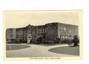 Clinton High School, Clinton, North Carolina, 1920-40s