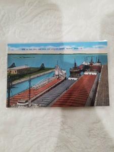 Antique Postcard, One of the Coal and Iron Ore Loading Docks, Toledo, Ohio