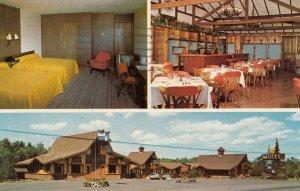 GRANBY , Quebec, Canada, 1960-80s ; LES Pins Motel & Gift Shop