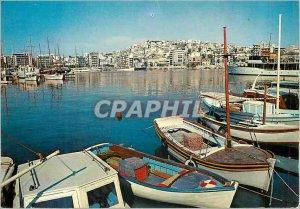 Postcard Modern Piraeus Passalimani the Scenic Boat