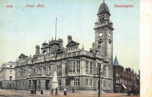 Town Hall, Leamington, England, Great Britain, Early Postcard, Unused