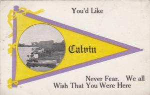 Humour You'd Like Calvin Pennsylvania 1913 Pennant Series