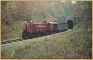 Arkansas & Missouri Railroad Alco RS-1 #22, Winslow Tunnel, Winslow Ark.- 1987