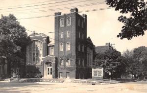 Waukegan Illinois~First Methodist Episcopal Church~Sign Board~1940s RPPC