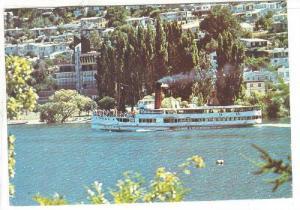Steamship, S. S. Earnslaw, Lake Wakatipu, New Zealand, PU-1976
