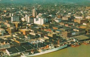 Alabama Mobile Aerial View Downtown Business Section
