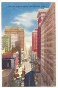 East On Madison Avenue, Memphis, Tennessee, 30-40s