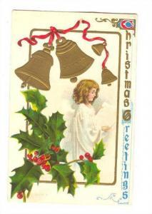 Christmas, angel, PU-1910