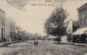 Wisconsin Wautonia Main Street 1911 sk684