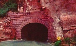 Zion National Park, UT, Entrance to Zion Tunnel, Chrome Vintage Postcard g9268