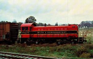 Bath & Hammondsport Railroad Alco S-1 Loocomotive Number 5