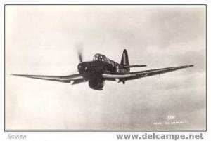 RP, British Fighter In Flight In Midst Of Clouds, 1950s