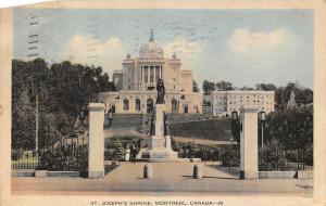 Canada St. Joseph's Shrine, Montreal statue monument 1936