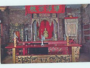 Pre-1980 CHINESE TEMPLE - CHINA INTEREST Oroville California CA c6406@